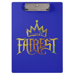 Clipboard with Descendants Fairest Logo design