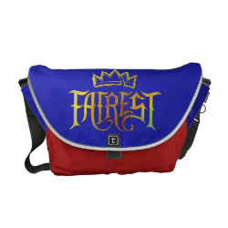 Rickshaw Medium Zero Messenger Bag with Descendants Fairest Logo design