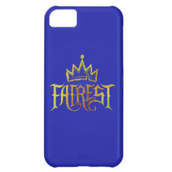 Case-Mate Barely There iPhone 5C Case with Descendants Fairest Logo design