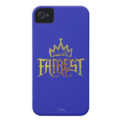 Case-Mate iPhone 4 Barely There Universal Case with Descendants Fairest Logo design
