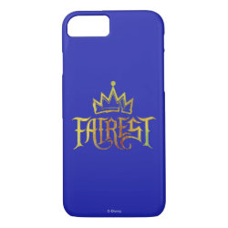 Case-Mate Barely There iPhone 7 Case with Descendants Fairest Logo design