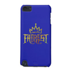 Case-Mate Barely There 5th Generation iPod Touch Case with Descendants Fairest Logo design