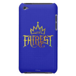 Case-Mate iPod Touch Barely There Case with Descendants Fairest Logo design