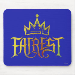 Mousepad with Descendants Fairest Logo design