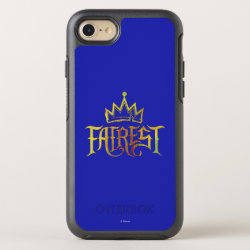 OtterBox Apple iPhone 7 Symmetry Case with Descendants Fairest Logo design