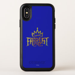 OtterBox Apple iPhone X Symmetry Case with Descendants Fairest Logo design