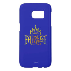Case-Mate Barely There Samsung Galaxy S7 Case with Descendants Fairest Logo design