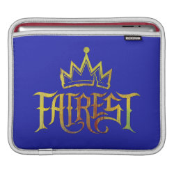 iPad Sleeve with Descendants Fairest Logo design