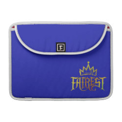 Macbook Pro 13' Flap Sleeve with Descendants Fairest Logo design