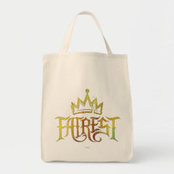 Grocery Tote with Descendants Fairest Logo design