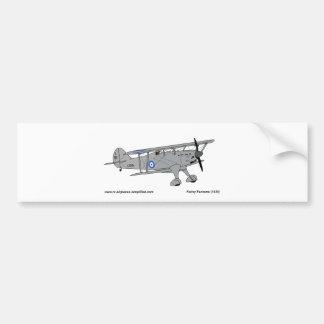 Fairey Fantome airplane Bumper Sticker