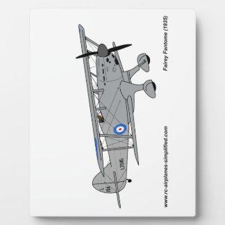 Fairey Fantome airplane Plaque