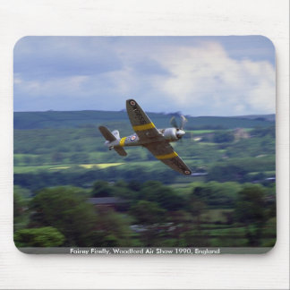 Fairey Firefly, Woodford Air Show 1990, England Mouse Pads