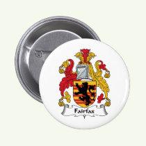 Fairfax Family Crest Button
