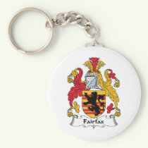 Fairfax Family Crest Keychain