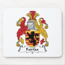 Fairfax Family Crest Mousepad