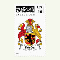Fairfax Family Crest Stamps