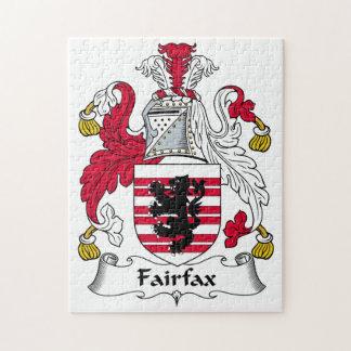 Fairfax Family Crest Puzzle