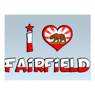 Fairfield, CA Postcard