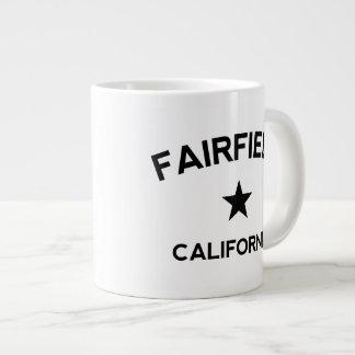 Fairfield California Taza De Café Gigante