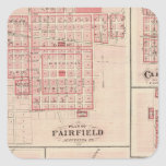 Fairfield, Carroll, Birmingham, Dunlap Pegatina Cuadrada