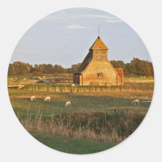 Fairfield Church Round Sticker