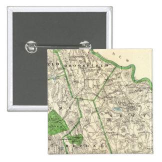 Fairfield Co N Pinback Button