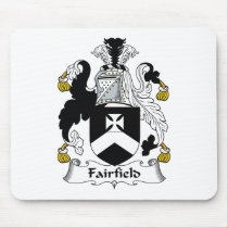 Fairfield Family Crest Mousepad