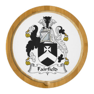 Fairfield Family Crest Round Cheese Board