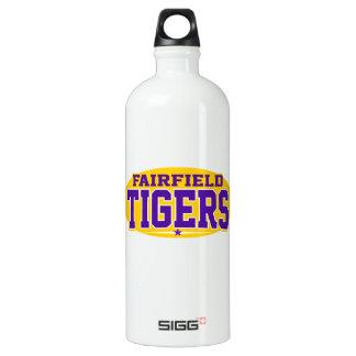 Fairfield High School; Tigers Aluminum Water Bottle