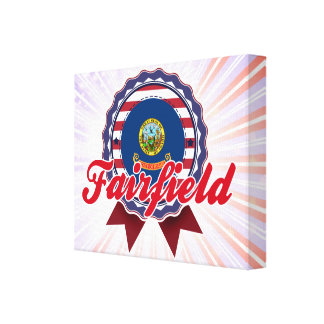 Fairfield, ID Stretched Canvas Prints