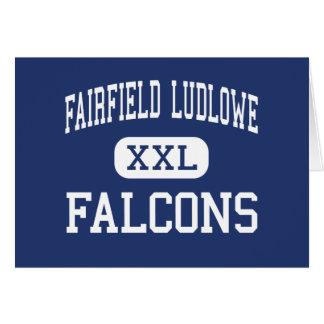 Fairfield Ludlowe - Falcons - alto - Fairfield Felicitación