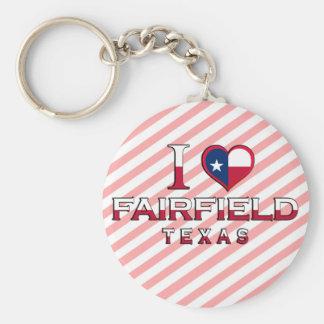 Fairfield, Texas Keychain