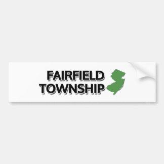 Fairfield Township, New Jersey Bumper Sticker