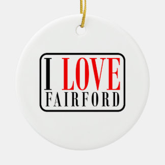 Fairford Alabama Christmas Ornaments