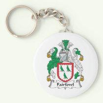 Fairfowl Family Crest Keychain