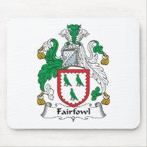 Fairfowl Family Crest Mousepad