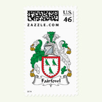 Fairfowl Family Crest Stamps