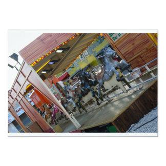 Fairground Attraction Horse Ride Invitation