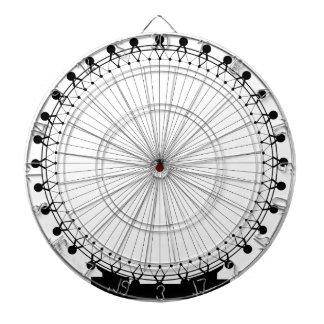 Fairground Big Wheel Dart Board