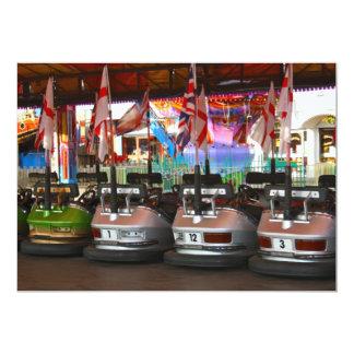 Fairground Dodgem Bumper Car Invitation