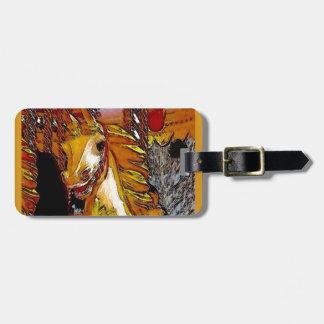 Fairground Horse Bag Tag
