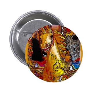 Fairground Horse Button