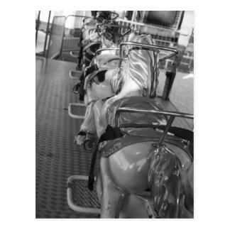 Fairground  Horse Ride Post Card