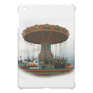 Fairgrounds Swings Stopped Against Grey sky Case For The iPad Mini