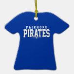 Fairhope High School; Pirates Christmas Ornaments
