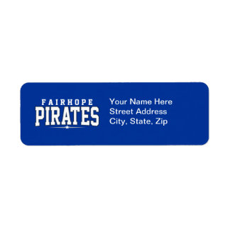 Fairhope High School; Pirates Return Address Label