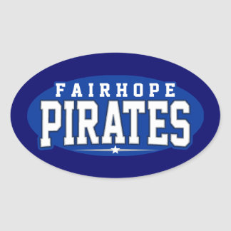 Fairhope High School; Pirates Oval Stickers