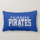 Fairhope High School; Pirates Throw Pillows