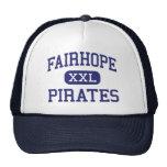 Fairhope - piratas - alto - Fairhope Alabama Gorras